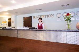 Лобби или стойка регистрации в Отель Максима Панорама