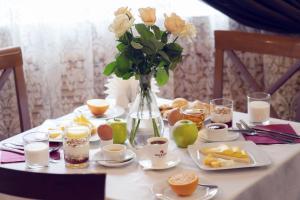 Завтрак для гостей Отель Максима Ирбис
