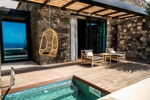 The swimming pool at or close to SENSI Azores Nature and SPA