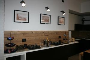 A kitchen or kitchenette at La Dimora Dei Sogni