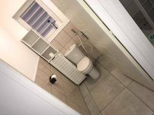 A bathroom at Maison lyam