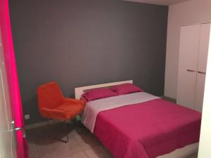 A bed or beds in a room at Maison lyam