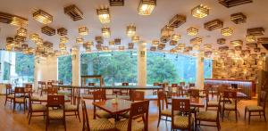 Restaurant ou autre lieu de restauration dans l'établissement Tierra Viva Machu Picchu Hotel