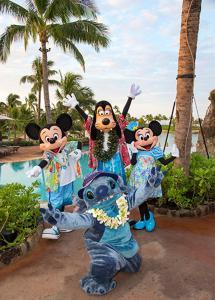 Children staying at Aulani, A Disney Vacation Club Villa, Ko Olina, Hawai'i