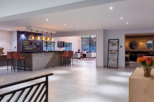 The lobby or reception area at Nova Boutique Hotel, spa and conference