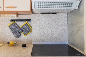 A kitchen or kitchenette at Residence peuple la lance