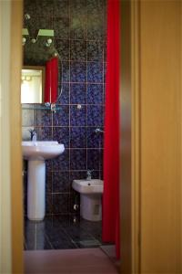 A bathroom at Tourist farm Lovrec