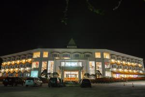 The building where the resort is located