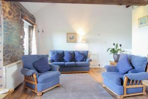 A seating area at Mucklow at Quinceborough Farm