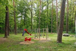 Children's play area at Knaus Campingpark Nürnberg