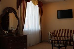 Гостиная зона в Отель Соболь
