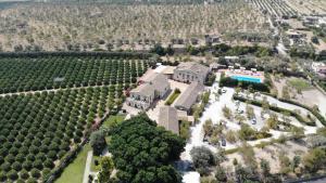 A bird's-eye view of Hotel Villa Favorita