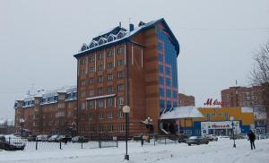 Отель Соболь зимой