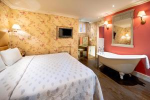 Cama o camas de una habitación en Fielding Hotel