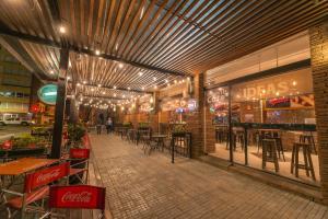 Un restaurante o sitio para comer en Salto Hotel y Casino
