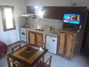 Una cocina o kitchenette en Mariaflorales