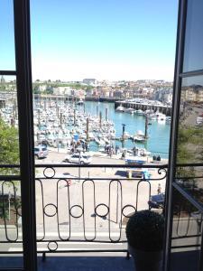 A balcony or terrace at LES ARCADES
