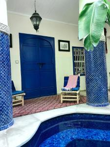 The swimming pool at or close to Hotel Sherazade