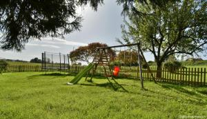 Children's play area at Les Bouc'tins