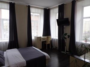Кровать или кровати в номере Mushroom24