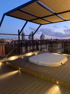 The swimming pool at or near Hotel Genova