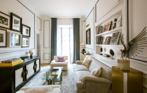 A seating area at Palazzo Dama - Preferred Hotels & Resorts