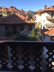 Μπαλκόνι ή βεράντα στο Aroma Dryos Eco & Design Hotel