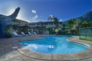 The swimming pool at or near The Kauai Inn
