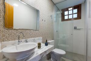 A bathroom at Villa Rica Pousada Boutique