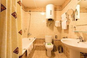 Ванная комната в Гостиница Полет