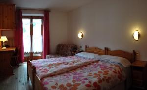 Letto o letti in una camera di Hotel Sole