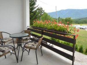 A balcony or terrace at Holiday Home Patrik