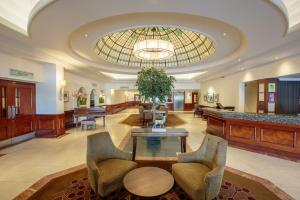 The lobby or reception area at The Aberdeen Altens Hotel