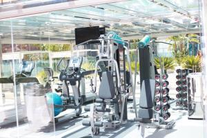 The fitness centre and/or fitness facilities at Hotel Indigo Barcelona - Plaza Catalunya, an IHG Hotel