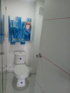 A bathroom at Zana Hotel Boutique