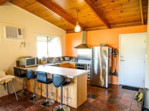 A kitchen or kitchenette at The Bothy Lancelin Family Retreat
