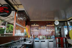 The lounge or bar area at Nong Nuey Rooms