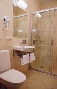 Ein Badezimmer in der Unterkunft Guest House Pirklių Namai