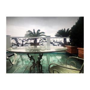 The swimming pool at or near Hotel Bellevue Suite
