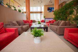 Гостиная зона в Lacoba Hotel