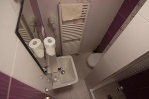 Kúpeľňa v ubytovaní Penzión Galéria