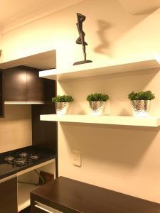 A kitchen or kitchenette at Apartamento Baviera