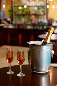 Drinks at Hotel Aconchego