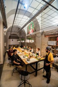 Restaurant ou autre lieu de restauration dans l'établissement YellowSquare Rome