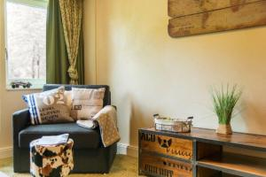"A seating area at Villa Winterberg ""Panorama Lodge"""