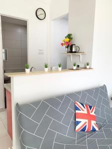 A bathroom at ツ SUPERB n COZY, ArteS 2BR @ USM, Bayan Lepas, Penang ツ