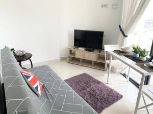 A television and/or entertainment centre at ツ SUPERB n COZY, ArteS 2BR @ USM, Bayan Lepas, Penang ツ