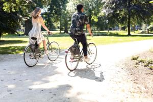 Biking at or in the surroundings of Conscious Hotel Vondelpark