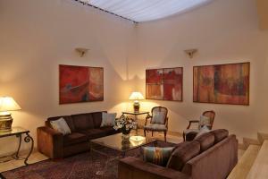 Uma área de estar em Transamerica Classic Higienópolis