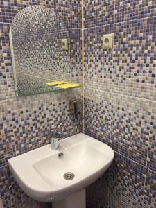 A bathroom at The Hotel Uyut